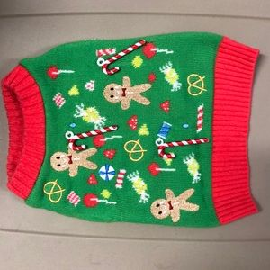 """Sweaters - Dog XS Christmas """"Ugly Sweater"""""""